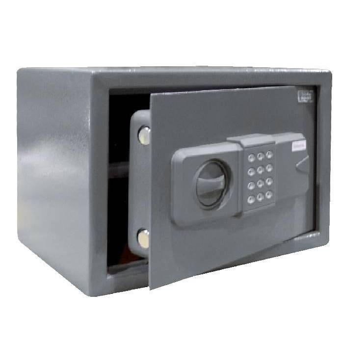 Coffre de sécurité 16.5L gris serrure électronique