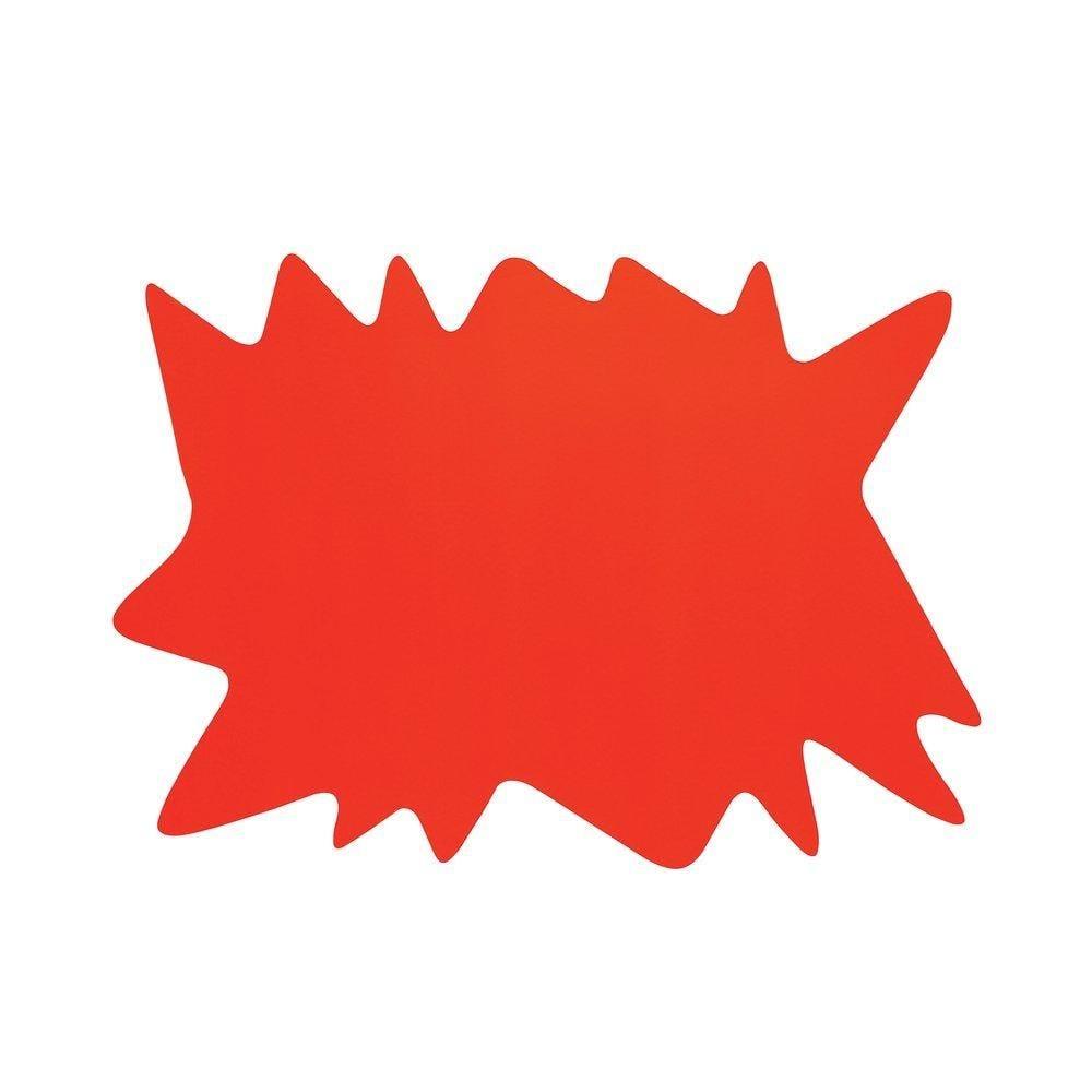 Eclaté jaune/orange double face 64x45cm - par 10 (photo)