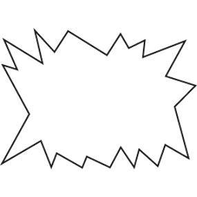 Eclaté blanc double face 12x8cm - par 50 (photo)