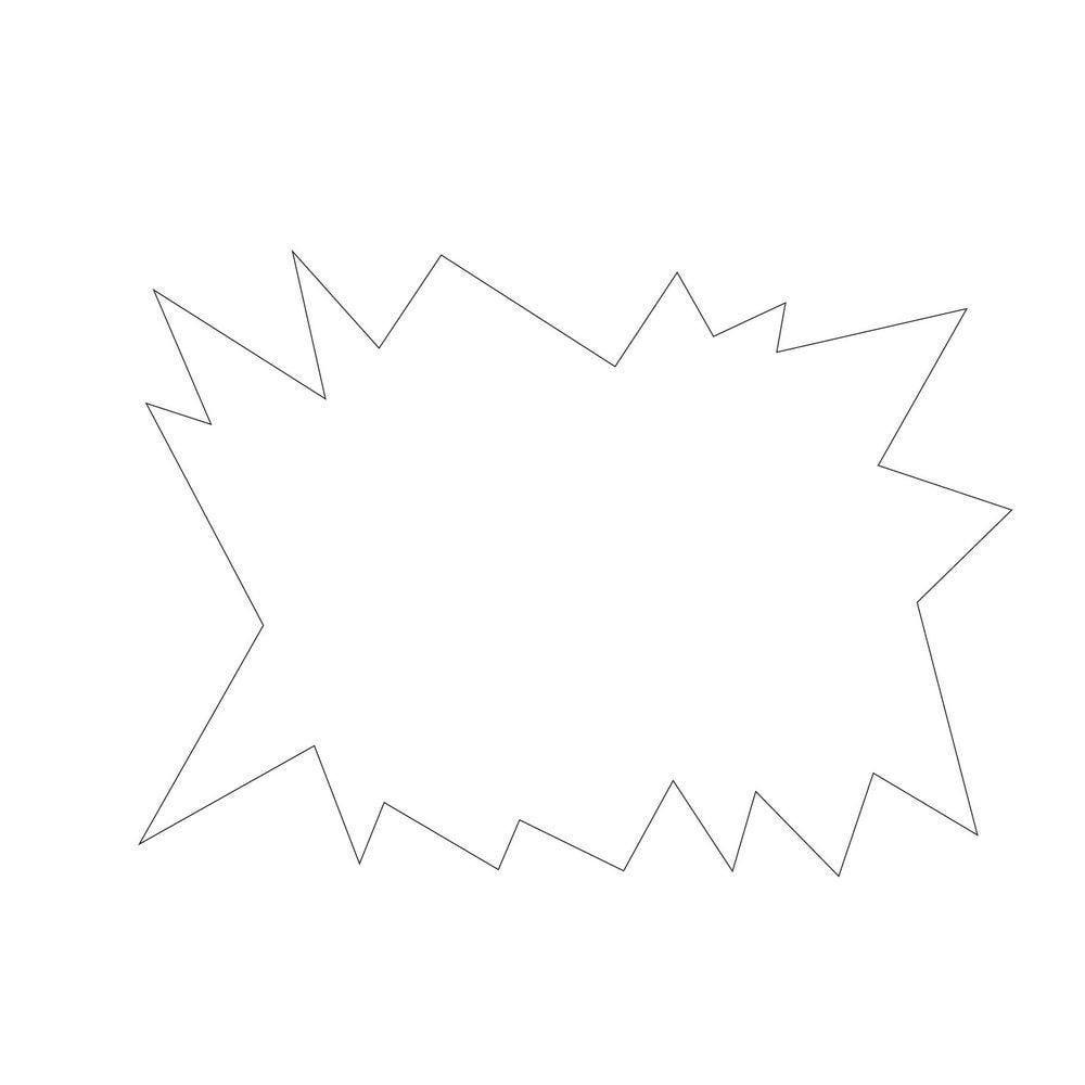 Eclaté blanc double face 24x16cm - par 25 (photo)