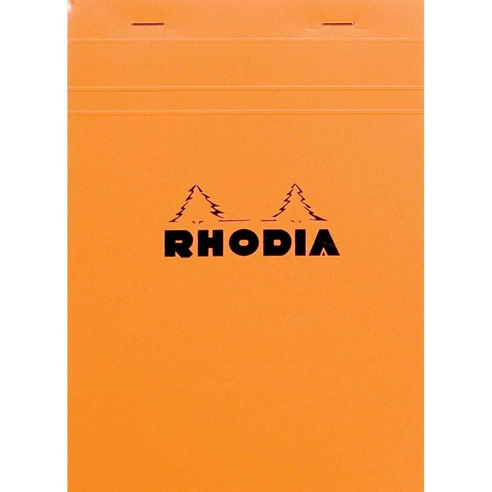 Bloc A5 Rhodia 80 Feuillets détachables 14.8x21 reliure 5x5 (photo)