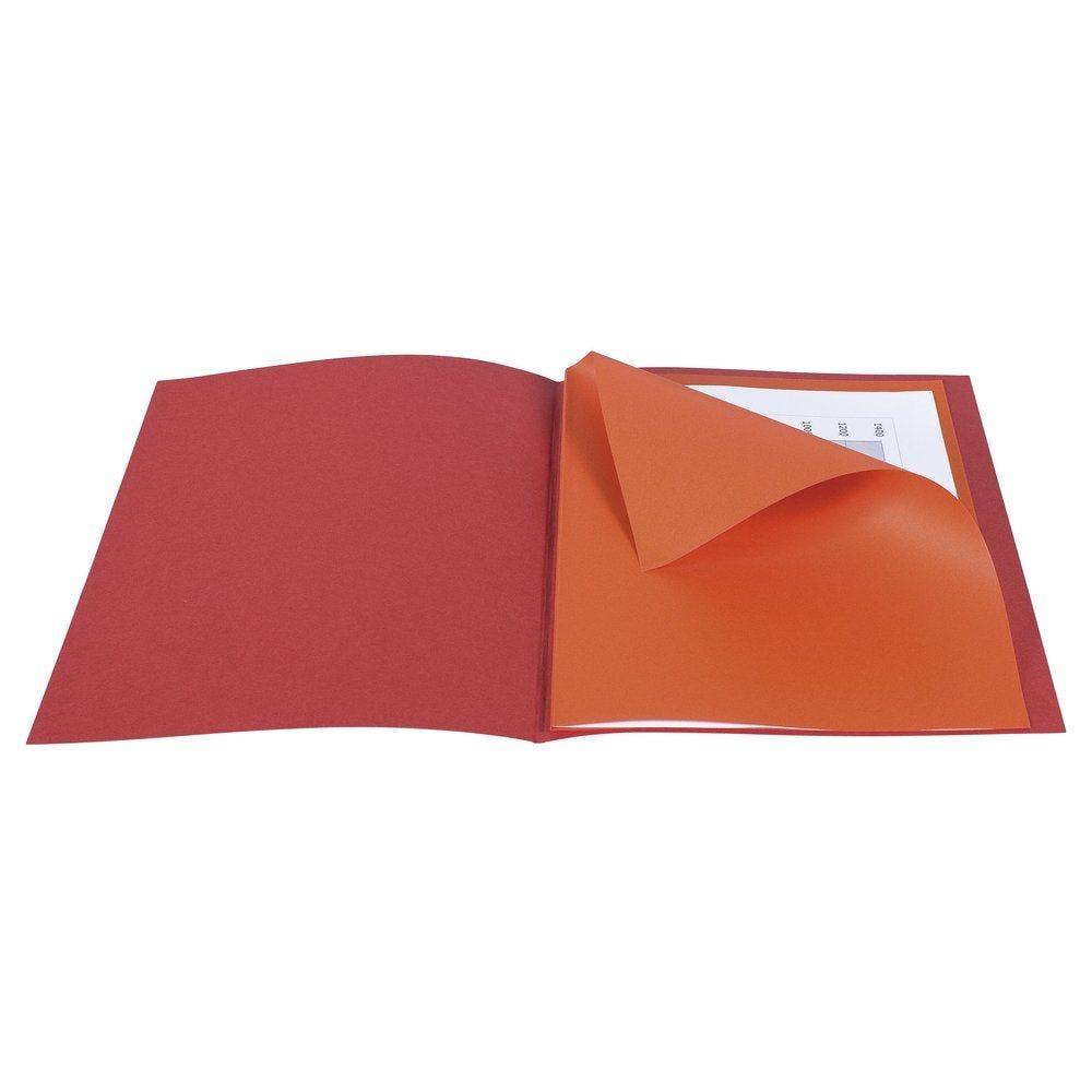 Chemise standard 210gr x25 + sous-chemise x50 coloris assortis (photo)