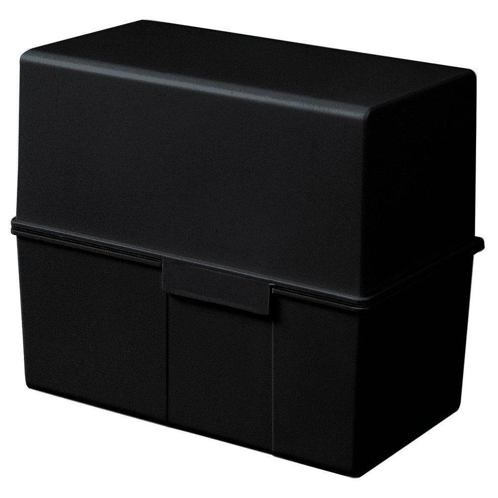 Boite Fiches noir L.22.8xP.20.5xH.9 cm par 1 (photo)