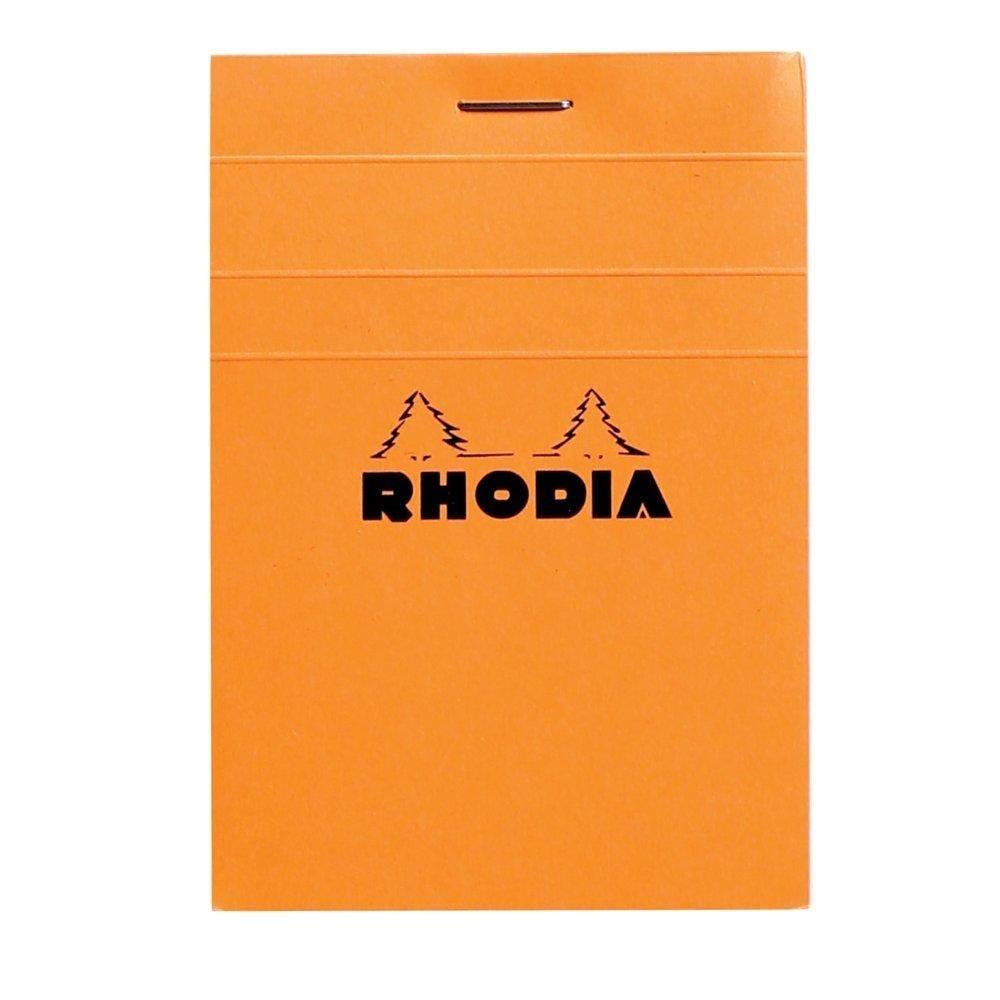 Bloc A7 Rhodia 80 feuilles détachables 7.4X10.5 reliure 5x5 couverture enduite (photo)