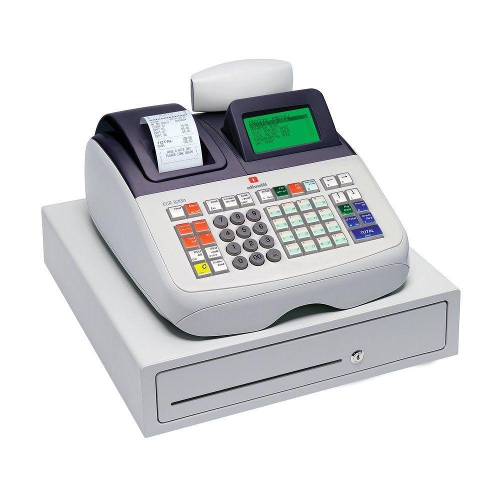 Caisse enregistreuse Olivetti ECR 8200s alphanumérique (photo)