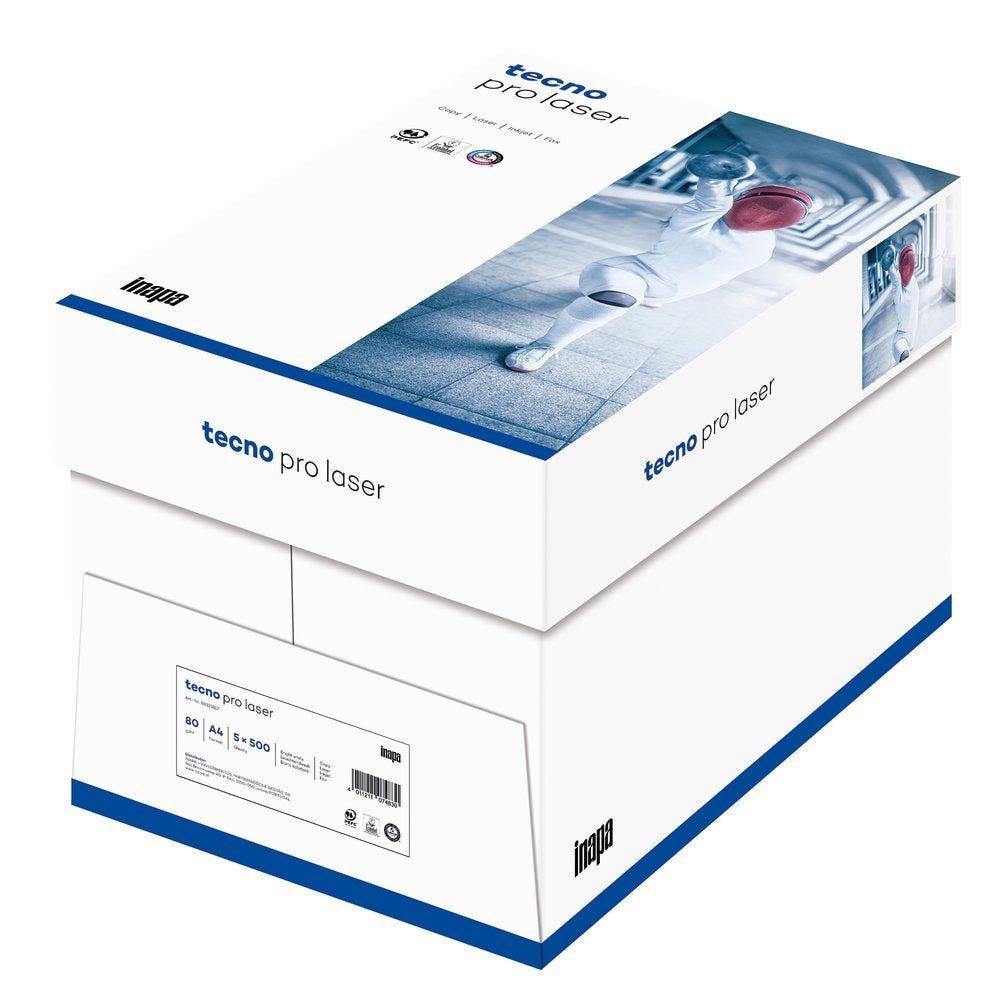 Ramette papier blanc A4 de 500 feuilles 80gr - carton de 5