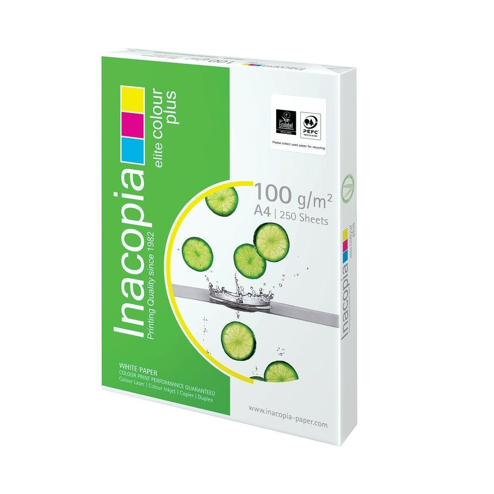 Ramette papier A4 blanc 100G - 250 feuilles