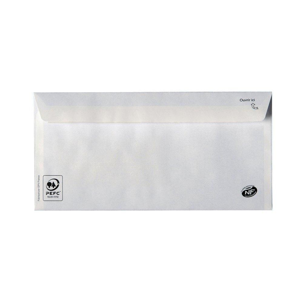 Enveloppes adhésives 75gr 110X220mm - par 100