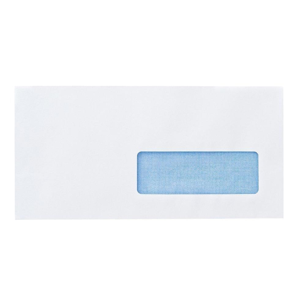 Enveloppe adhésive à fenêtre 75gr 110x220mm - par 250