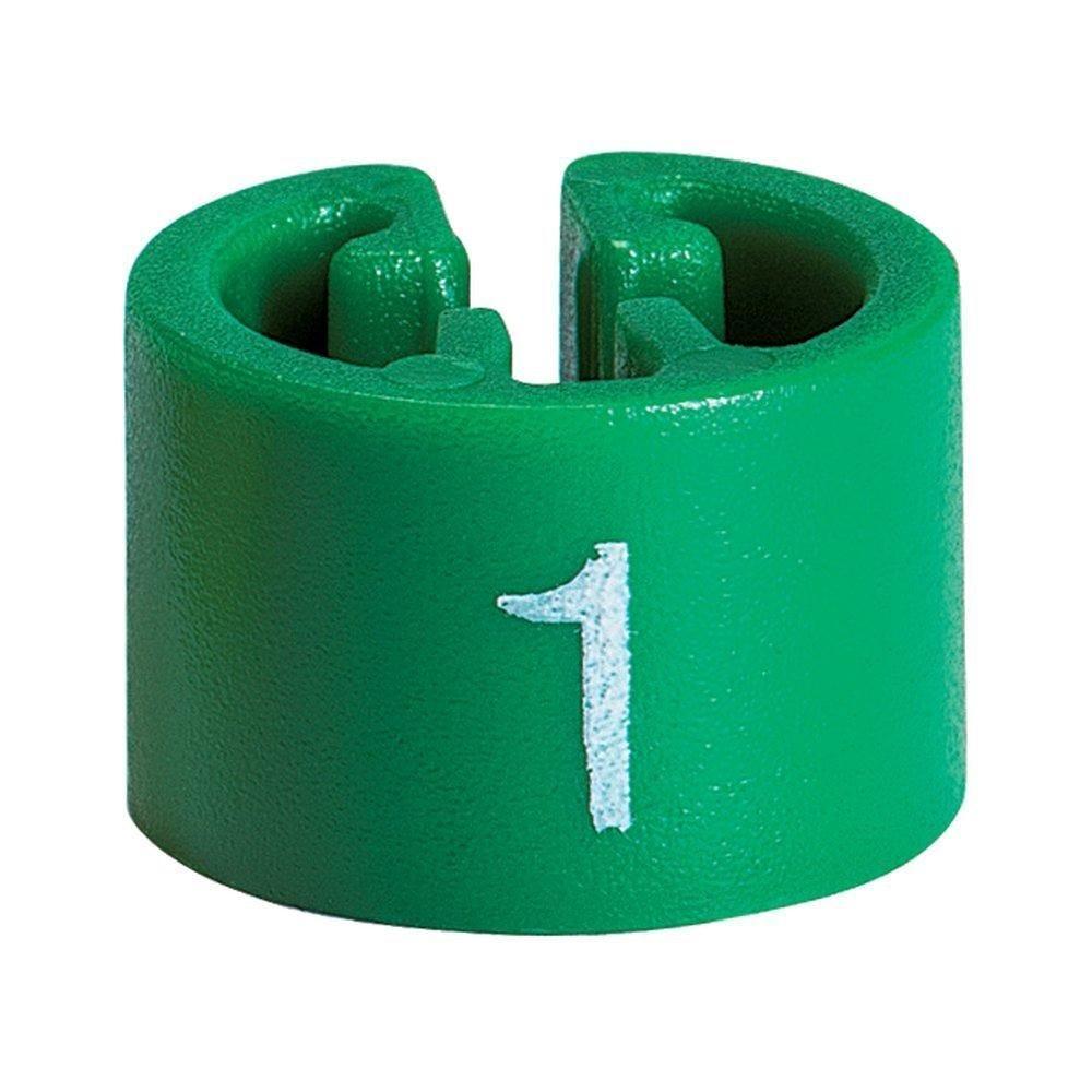 Marque taille 1 vert foncé par 50 (photo)