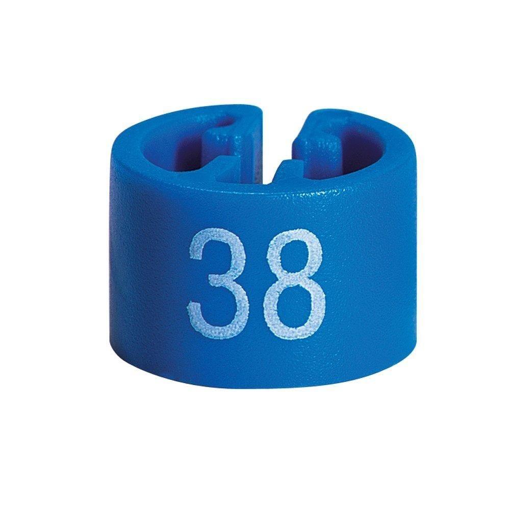 Marque taille 38 bleu par 50 (photo)
