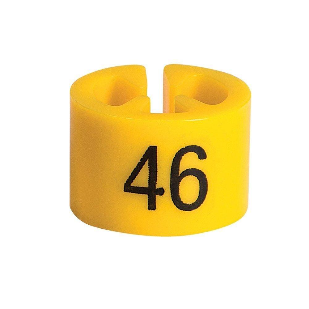 Marque taille 46 jaune par 50 (photo)