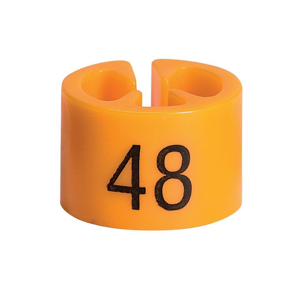 Marque taille 48 orange par 50 (photo)