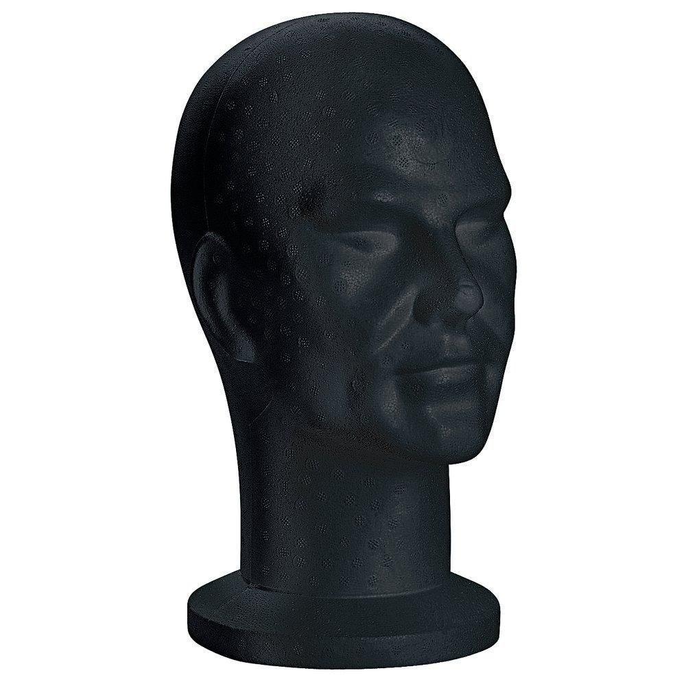 Tête homme noire (photo)