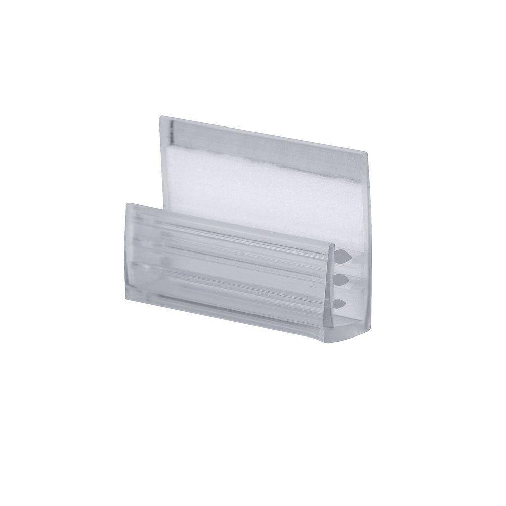 Grippeur facing x20 35x46mm plastique  transparent (photo)