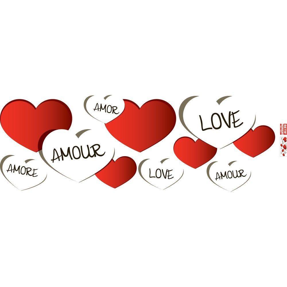 Affiche st valentin 115x40 cm recto (photo)