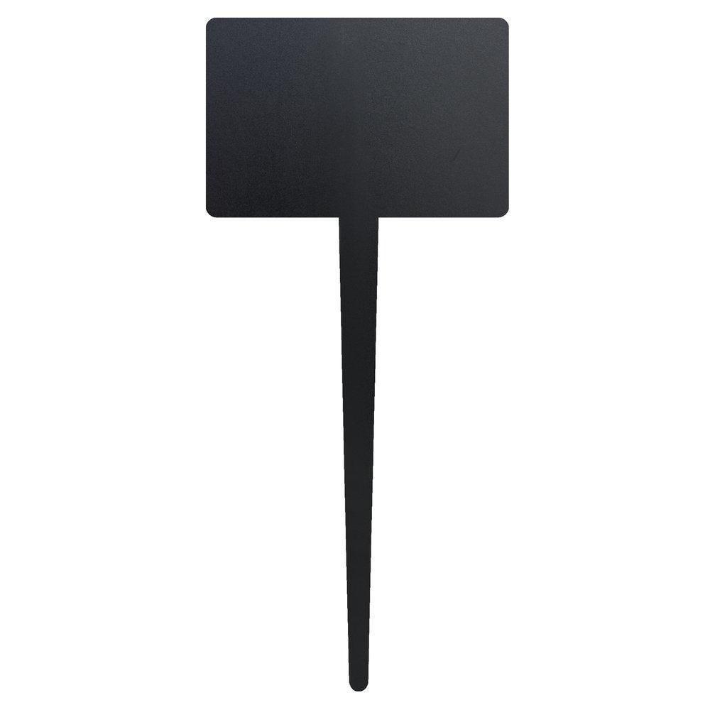Ardoise silhouette rectangle à piquer 8x18cm - lot de 5 (photo)