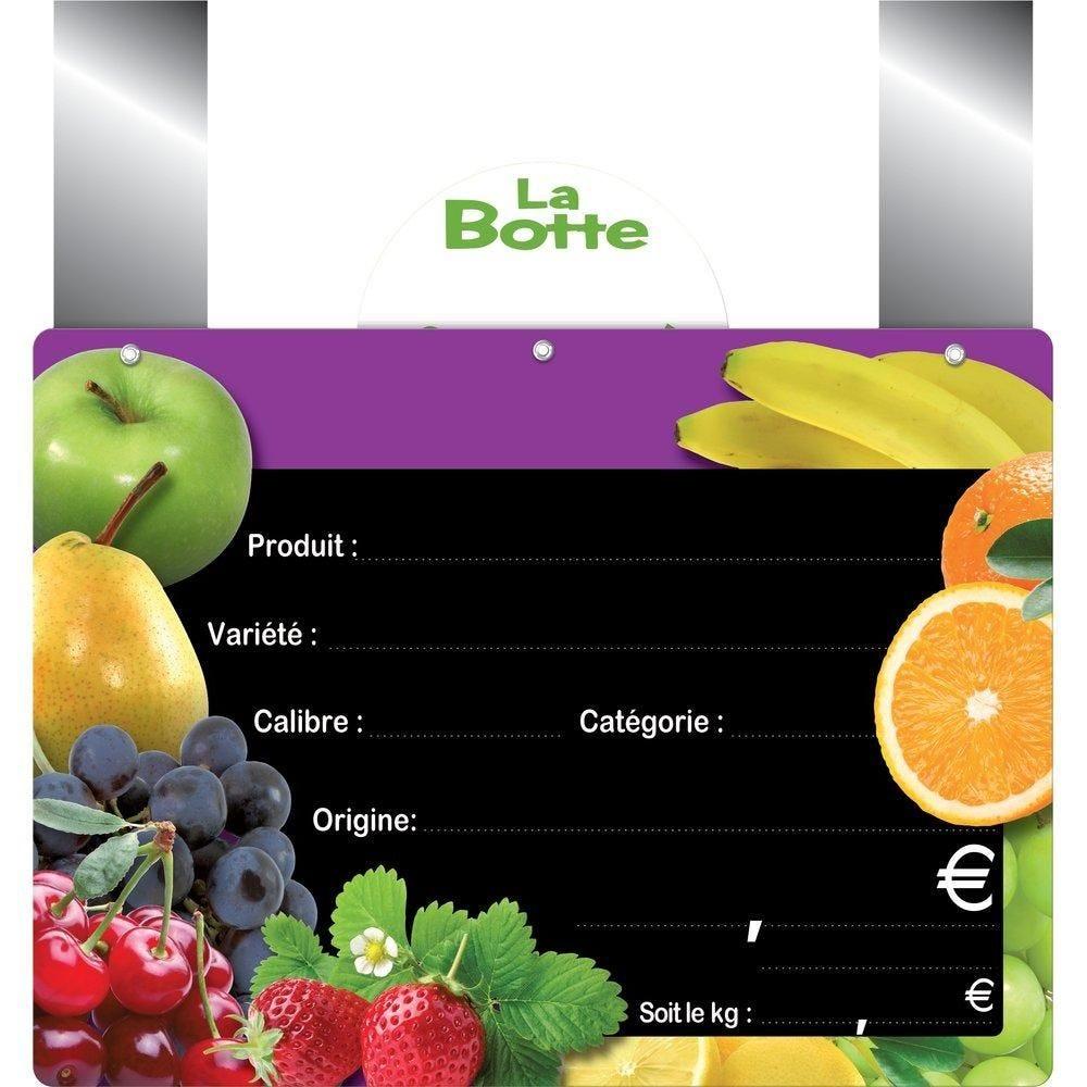 Etiquettes Panière fruitée vocc à pattes 20X15 cm - sachet de 10 (photo)