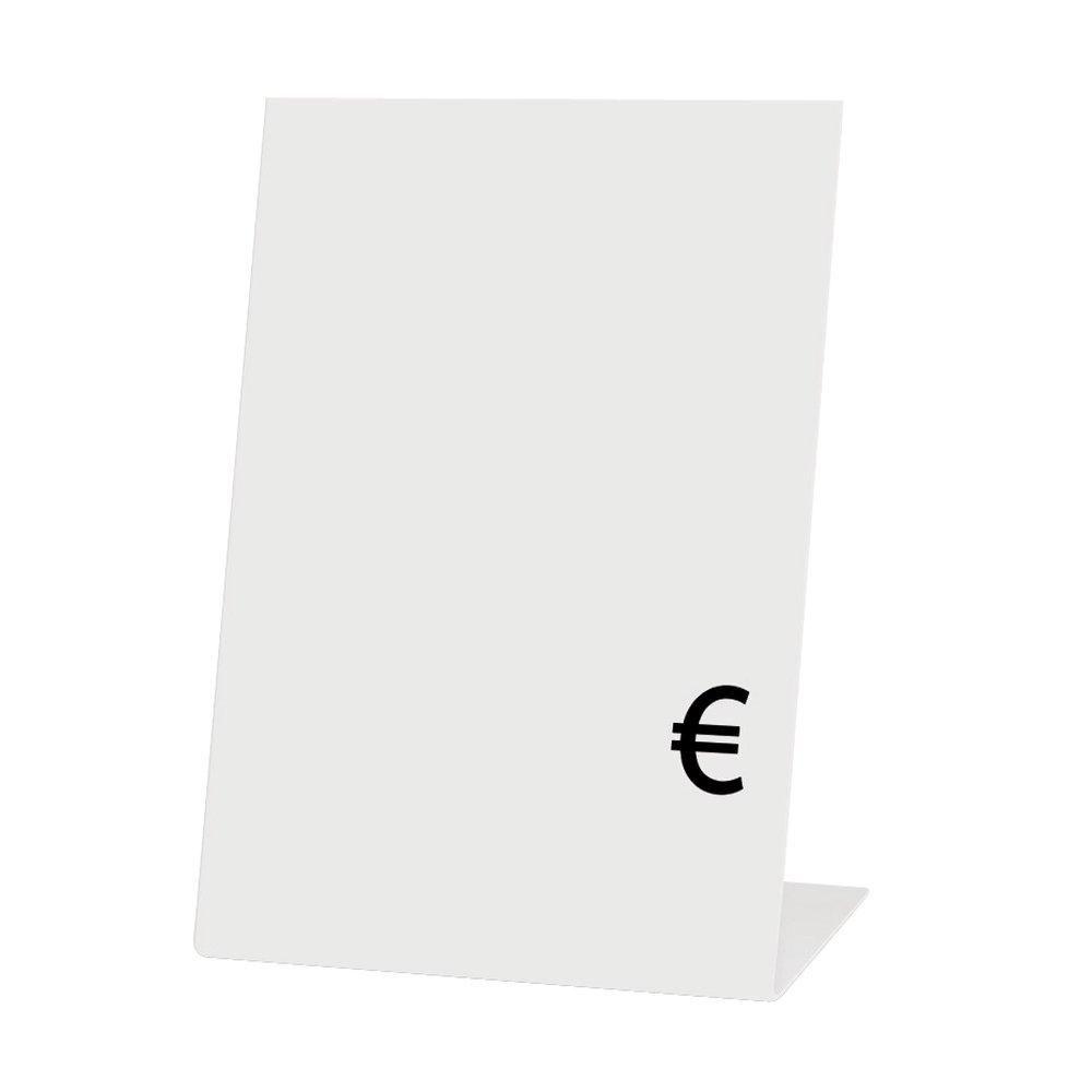 Chevalets blancs 5x7cm - sachet de 10 (photo)