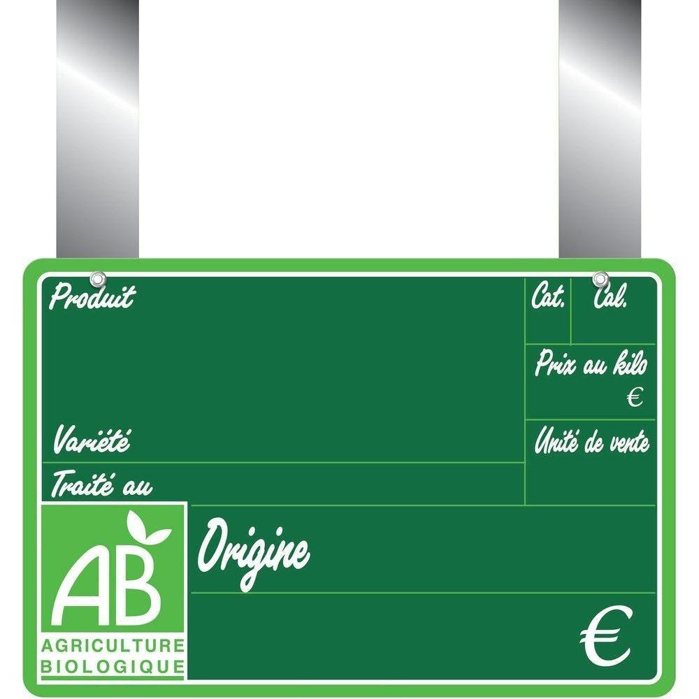 Etiquettes Bio primeur vocc à pattes 15x10cm - sachet de 10 (photo)