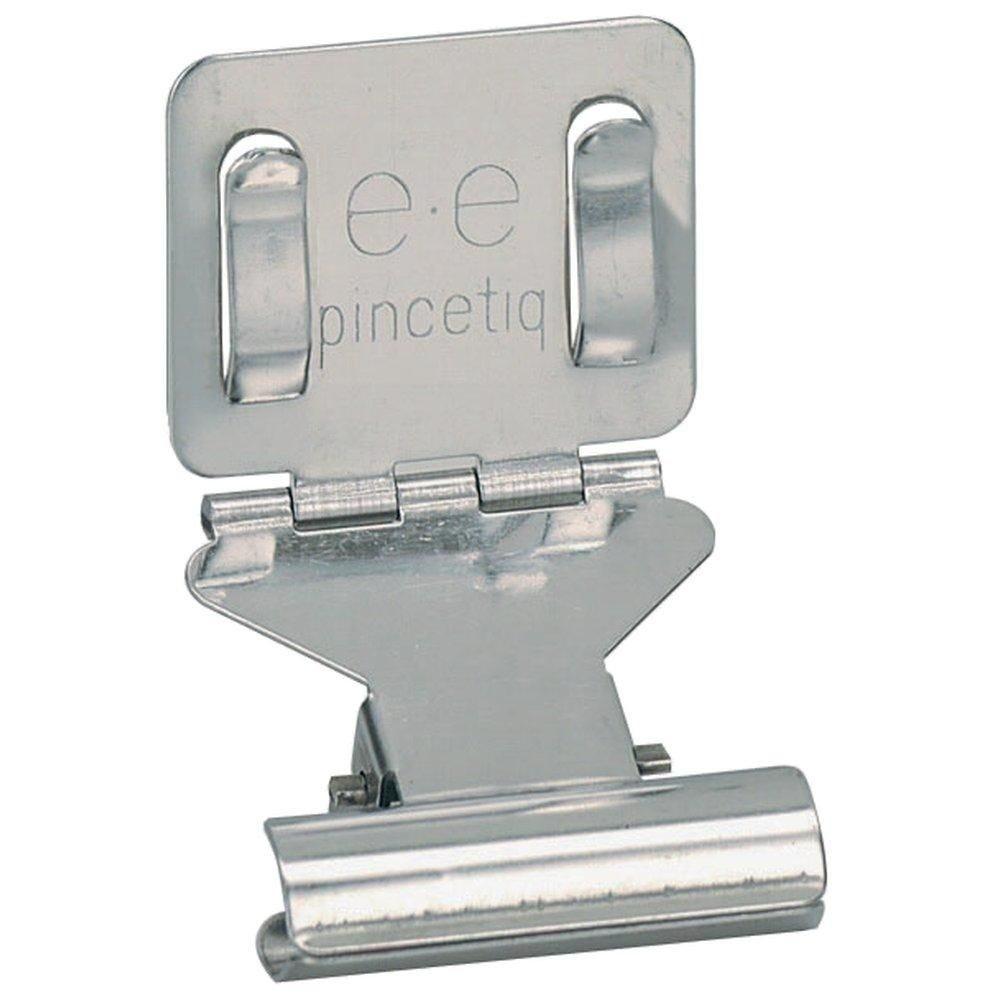 Porte-étiquette Pinc'etiq 3.5x4x5.5cm - sachet de 10 (photo)