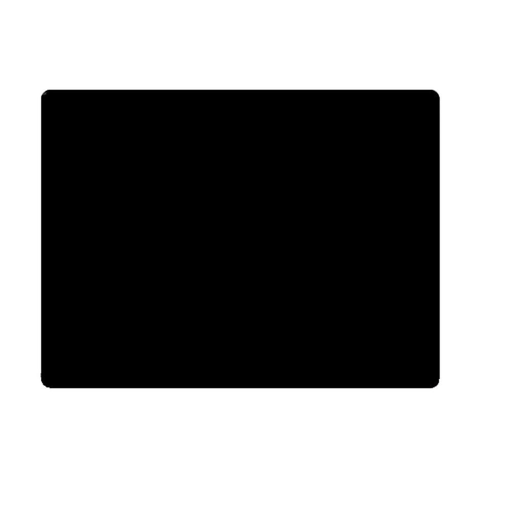 Etiquette ardoise vierge noire 6x4 cm par 10 (photo)