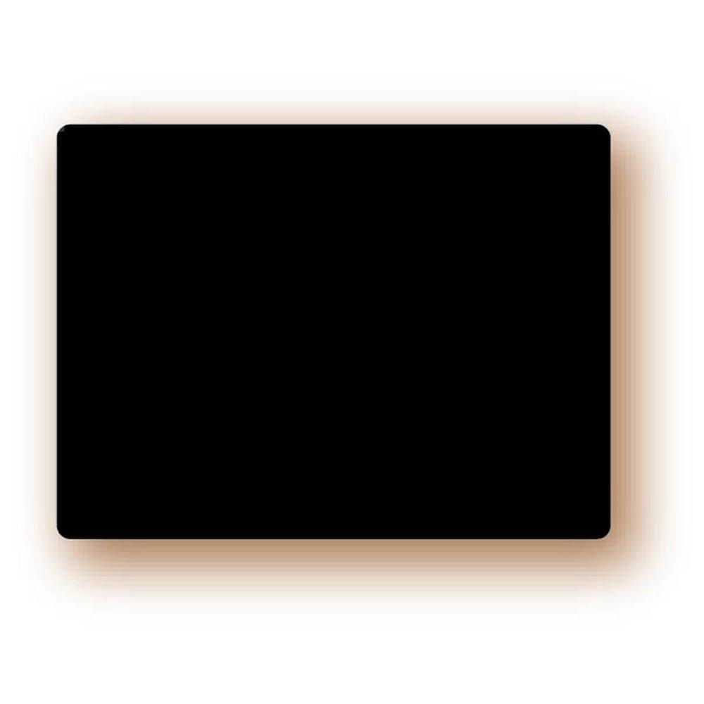 Etiquette ardoise vierge noire 6x8 cm par10 (photo)