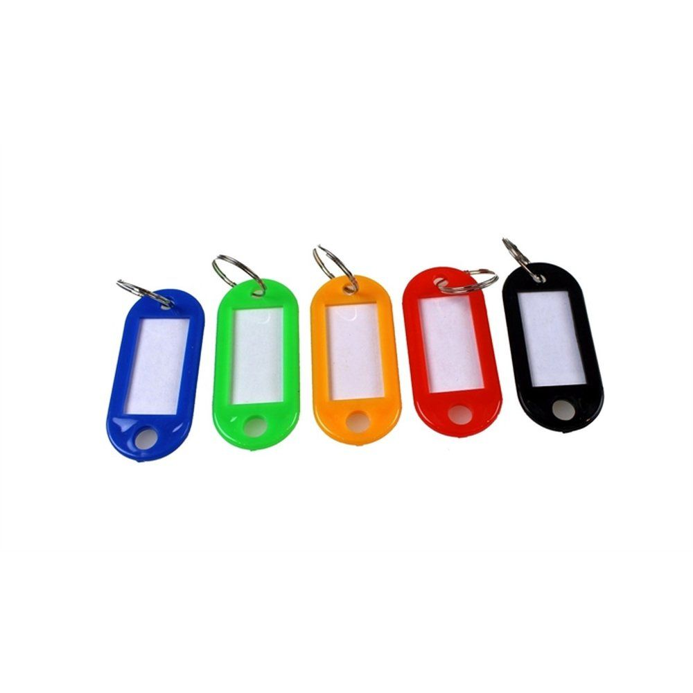Porte-clés avec anneaux coloris assortis par 100 (photo)