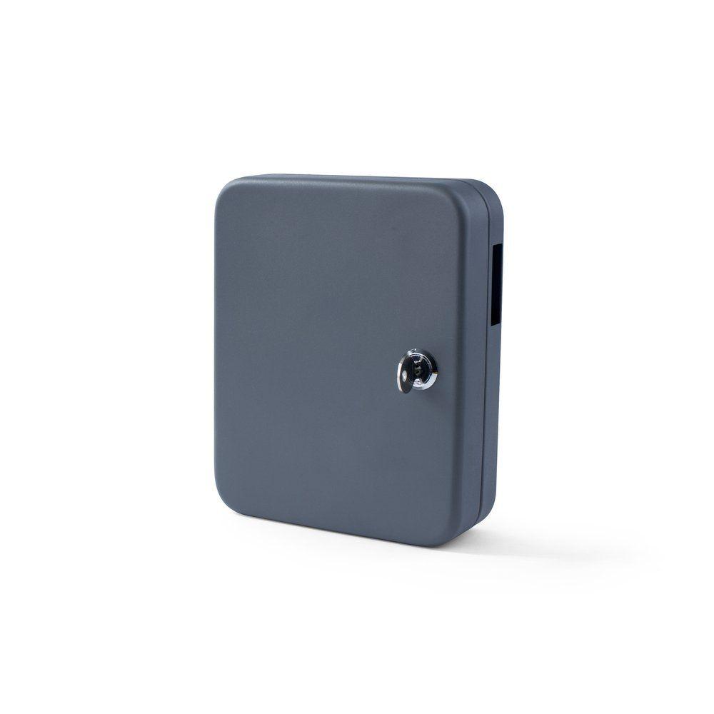 Armoire à clés gris foncé 16x6x20cm (photo)
