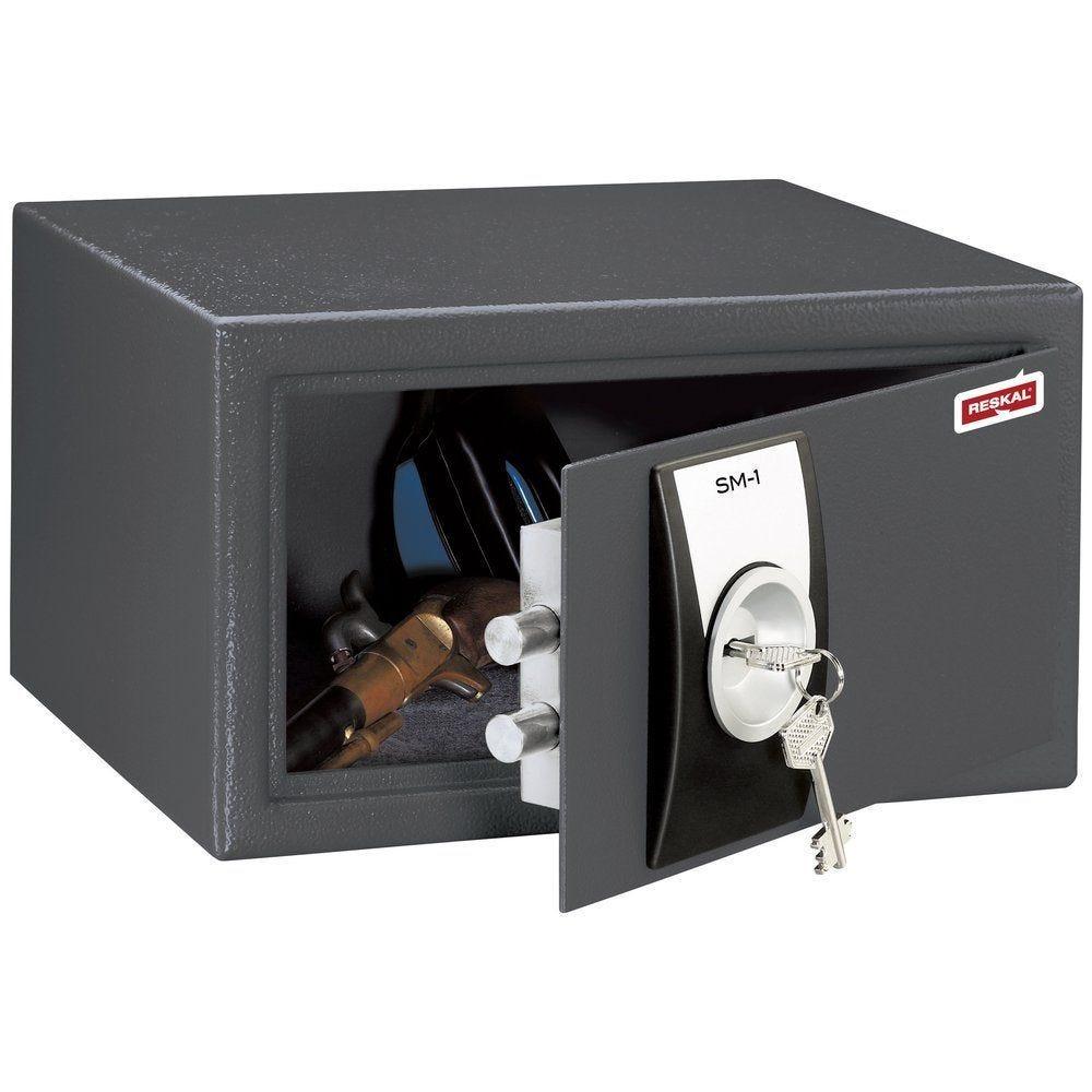 Coffre de sécurité à clé 10L - SM1 (photo)