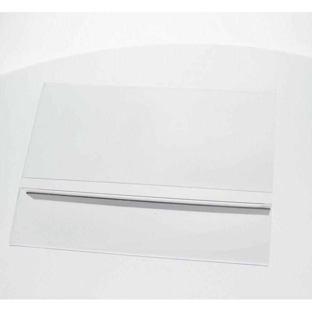 Support affiche PLV magnétique  et adhésif A5 H  format paysage (photo)