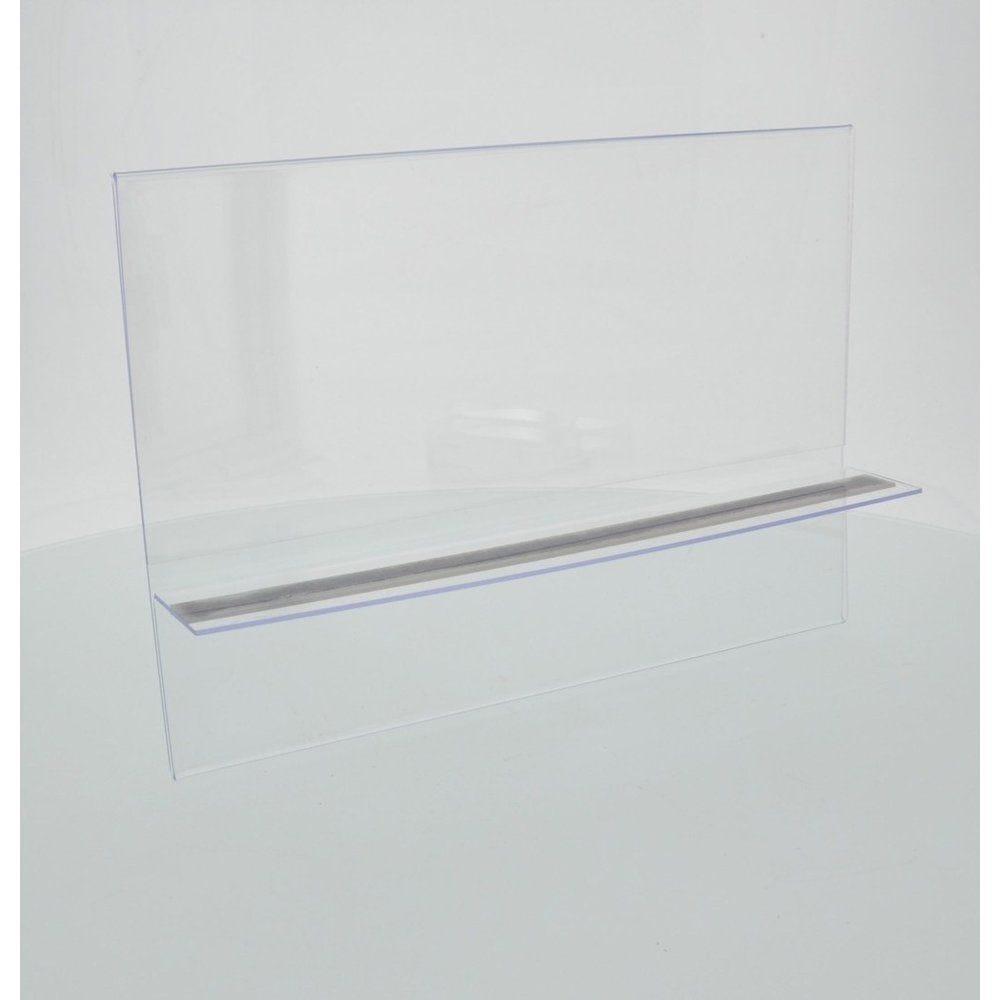 Support affiche PLV magnétique   A4 H format paysage (photo)