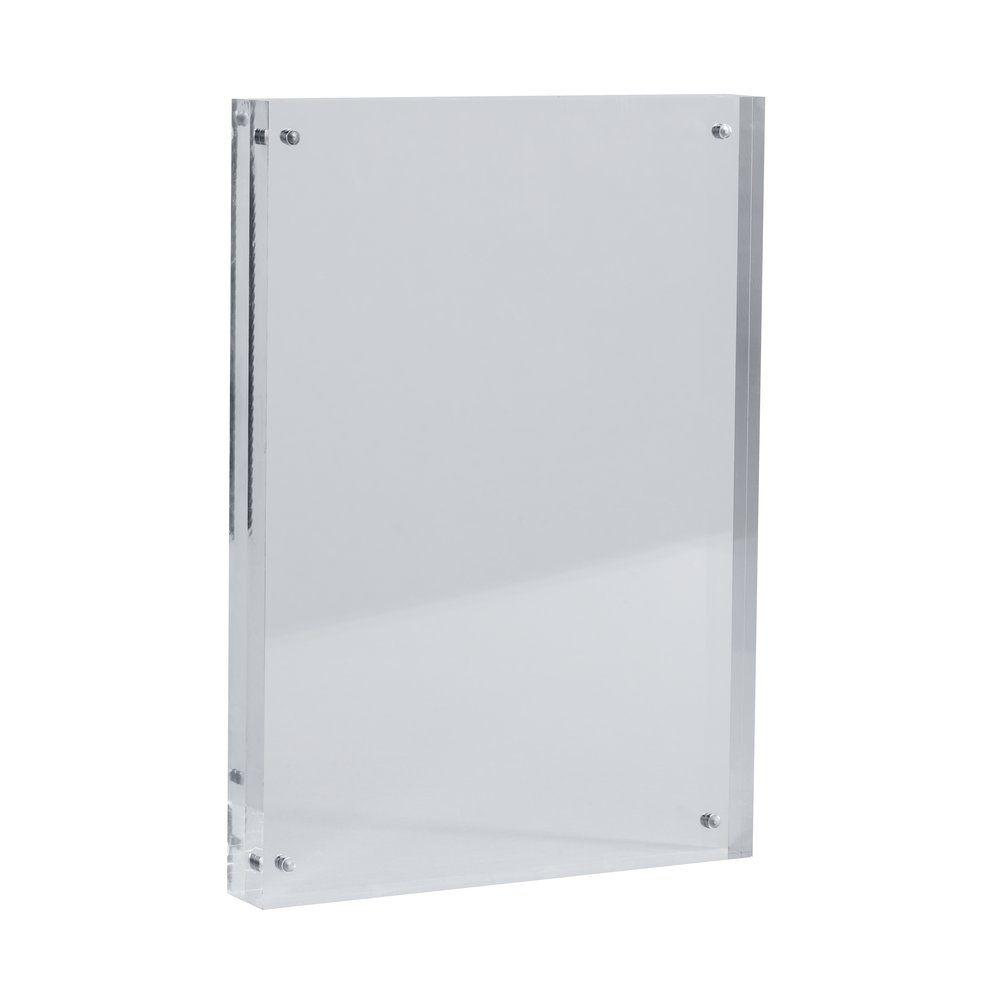 Cadre transparent magnétique en acrylique A5 150x210mm (photo)