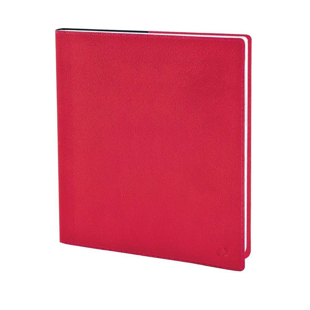 Agenda toscana rouge 16x16cm (photo)
