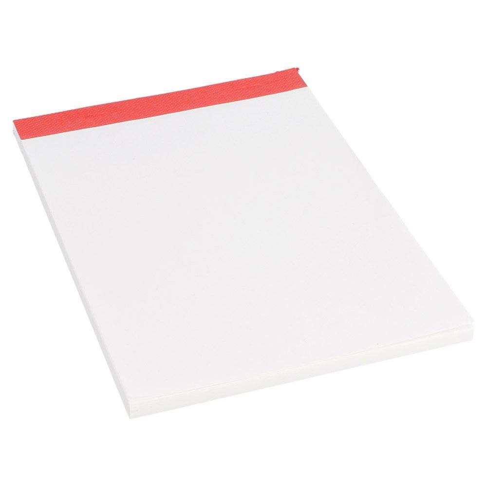Bloc note blanc (1/8) 80 feuilles 15,7x10,5cm - par 120