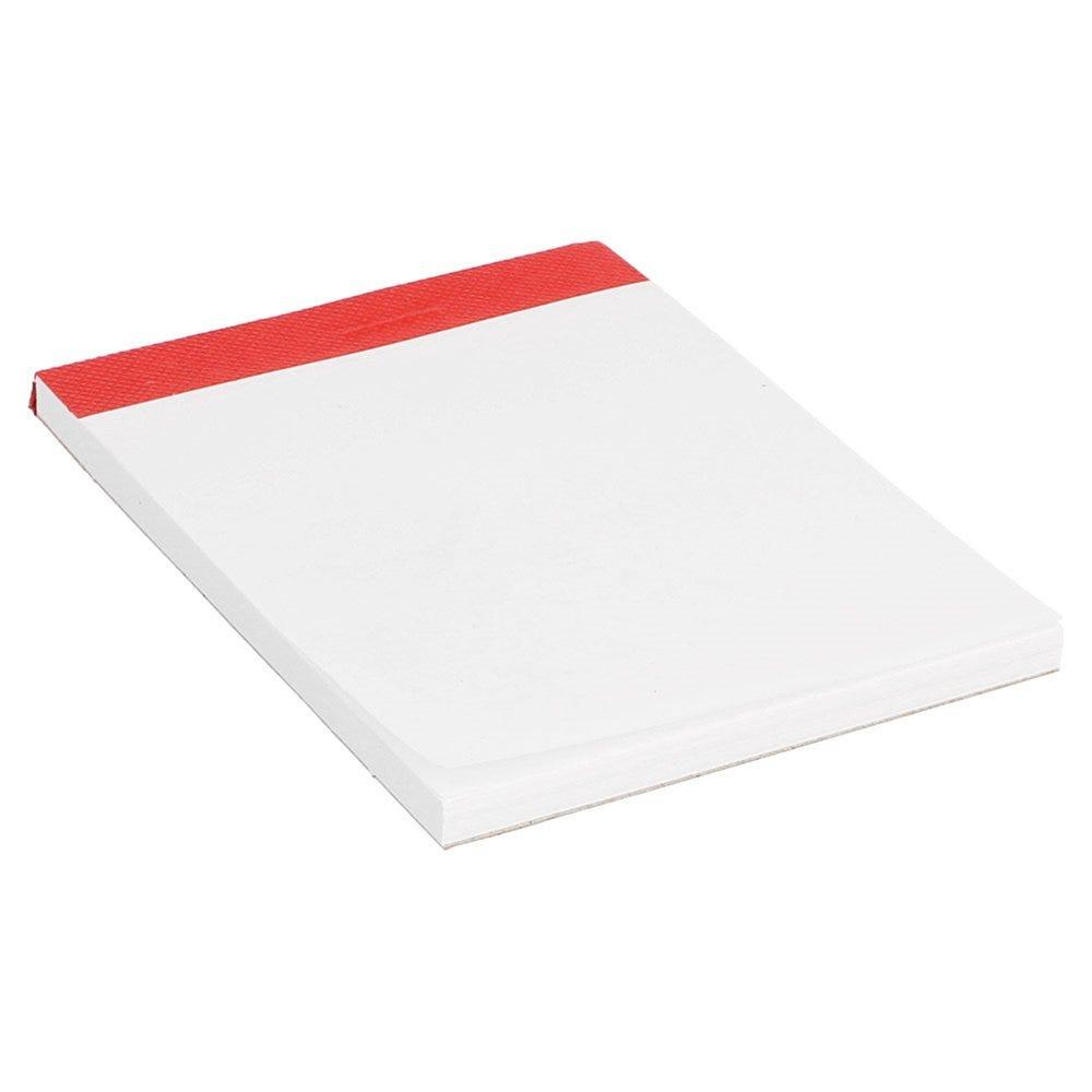 Bloc note blanc (1/6) 80 feuilles 10,5x7,5cm - par 160