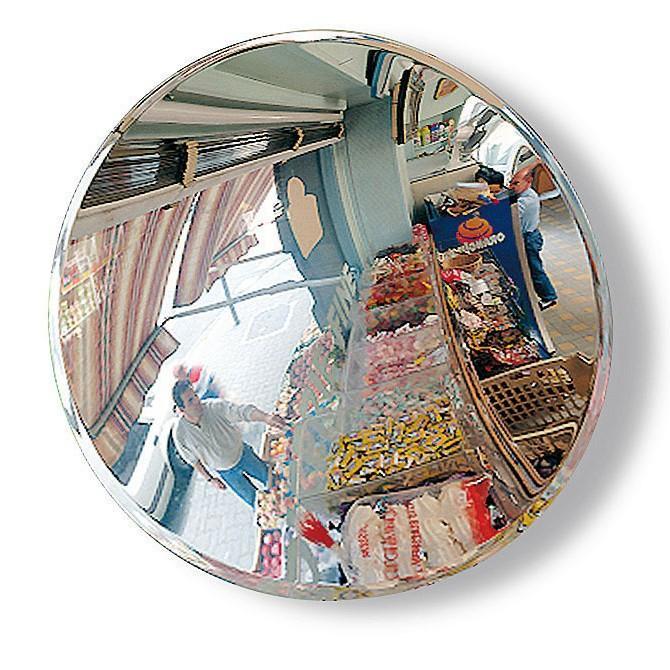 Miroir de surveillance diamètre 60cm pour magasins