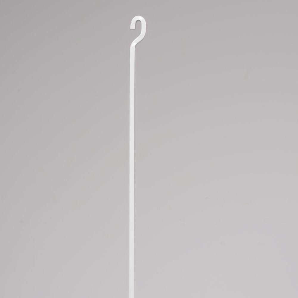 Tige alu 4X4 anti degond blanche 2M (photo)