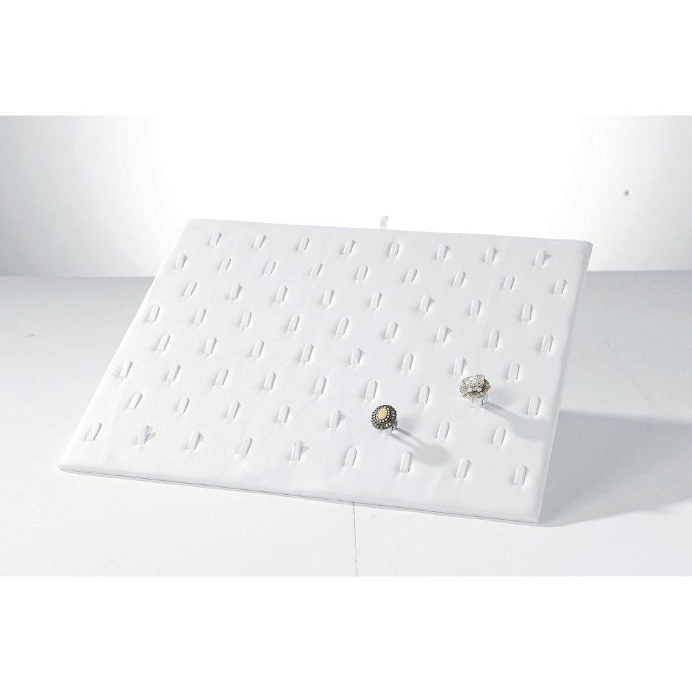 Plateau blanc pour bagues/boucles - pour boîte 21162