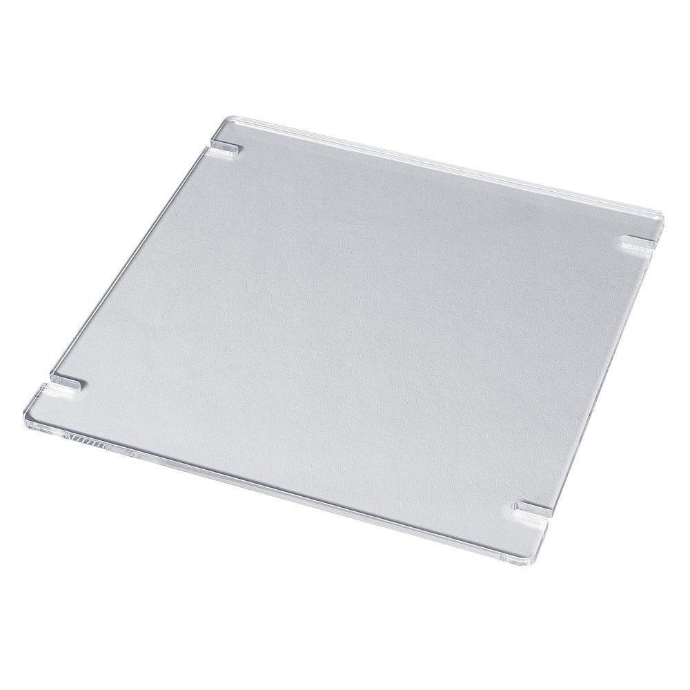 Plaque carrée 25x25cm pour système cube