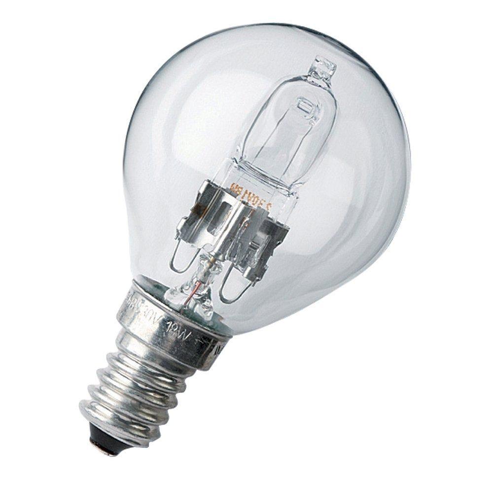 Lampe halogène standard eco 1er prix 28w 230v E14 par 2 (photo)