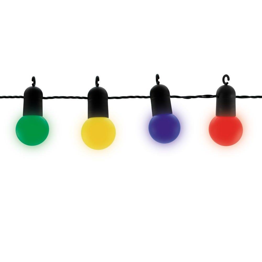 Guirlande extérieure multico LED 9 mètres connectable 6 fois (photo)