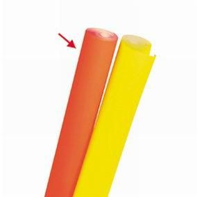 Papier fluo orange 0,70 x 10 m (photo)