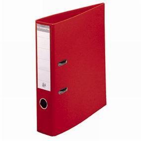 Classeur levier a4 pp rouge - dos 8 cm (photo)