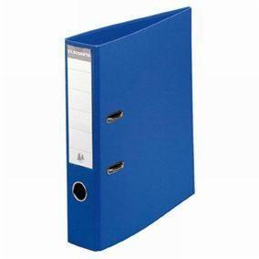Classeur levier a4 pp bleu - dos 8 cm (photo)