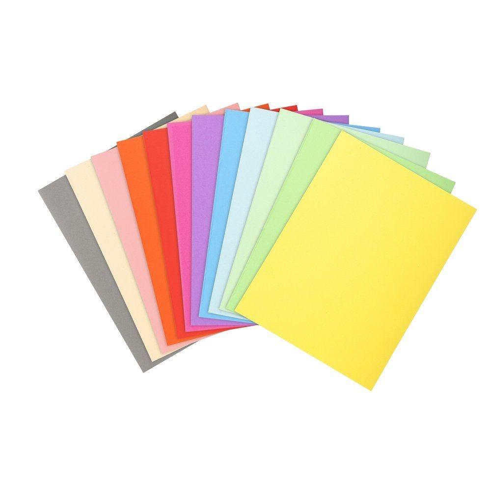 Chemises carton 240 x 320mm 100 % recyclées couleurs assorties par 100 (photo)
