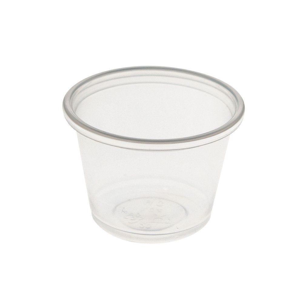 Pot à sauce transparent 30ml - par 250 (photo)