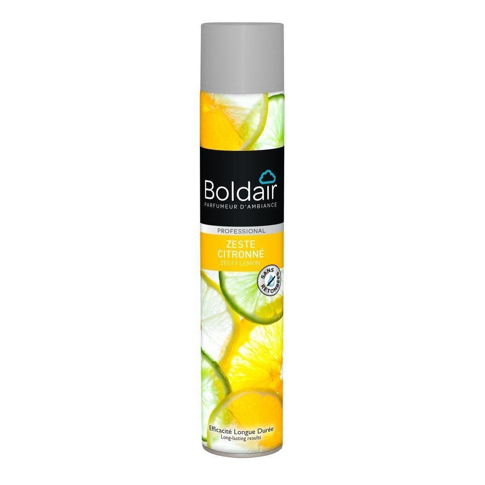 Boldair desodorisant zeste citronné 500 ml (photo)