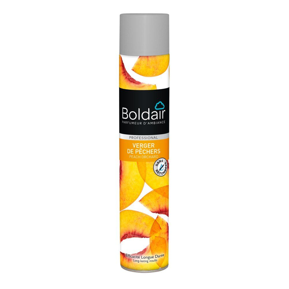 Boldair desodorisant verger de  pêchers 500 ml (photo)