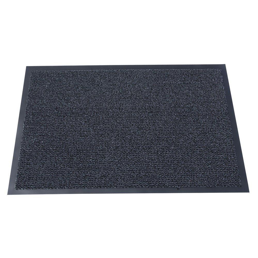 Tapis d'accueil gris foncé 60x90cm